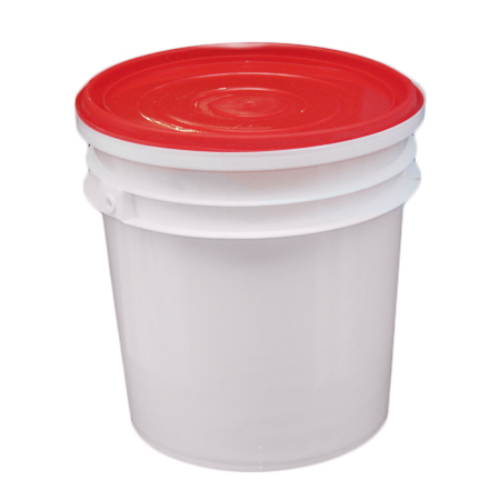 Plastic Lubricant Bucket