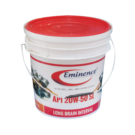Printed Lubricant Bucket