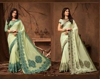 Digital Print Georgette Sarees