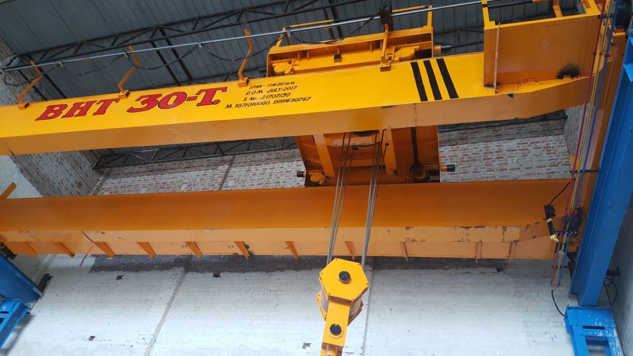 Double Girder Box Overhead EOT Cranes