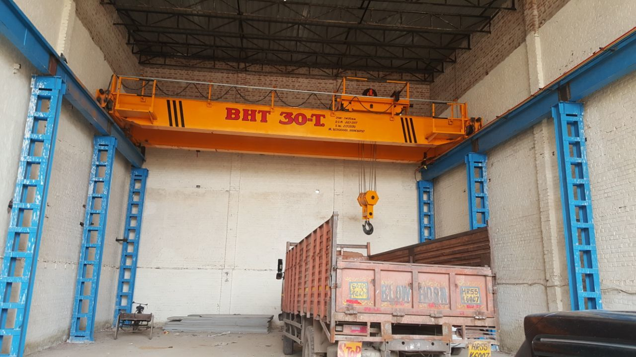 Double Girder Box Overhead EOT Cranes