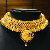 Gold Thushi Necklaces