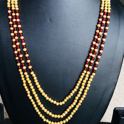 3 Layer Mala Necklaces