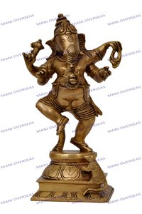 Brass God Statue