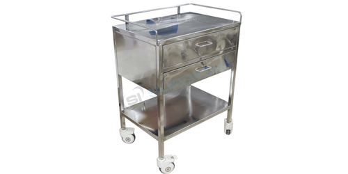 Medicine Trolley With 2 Drawer Sis 2011
