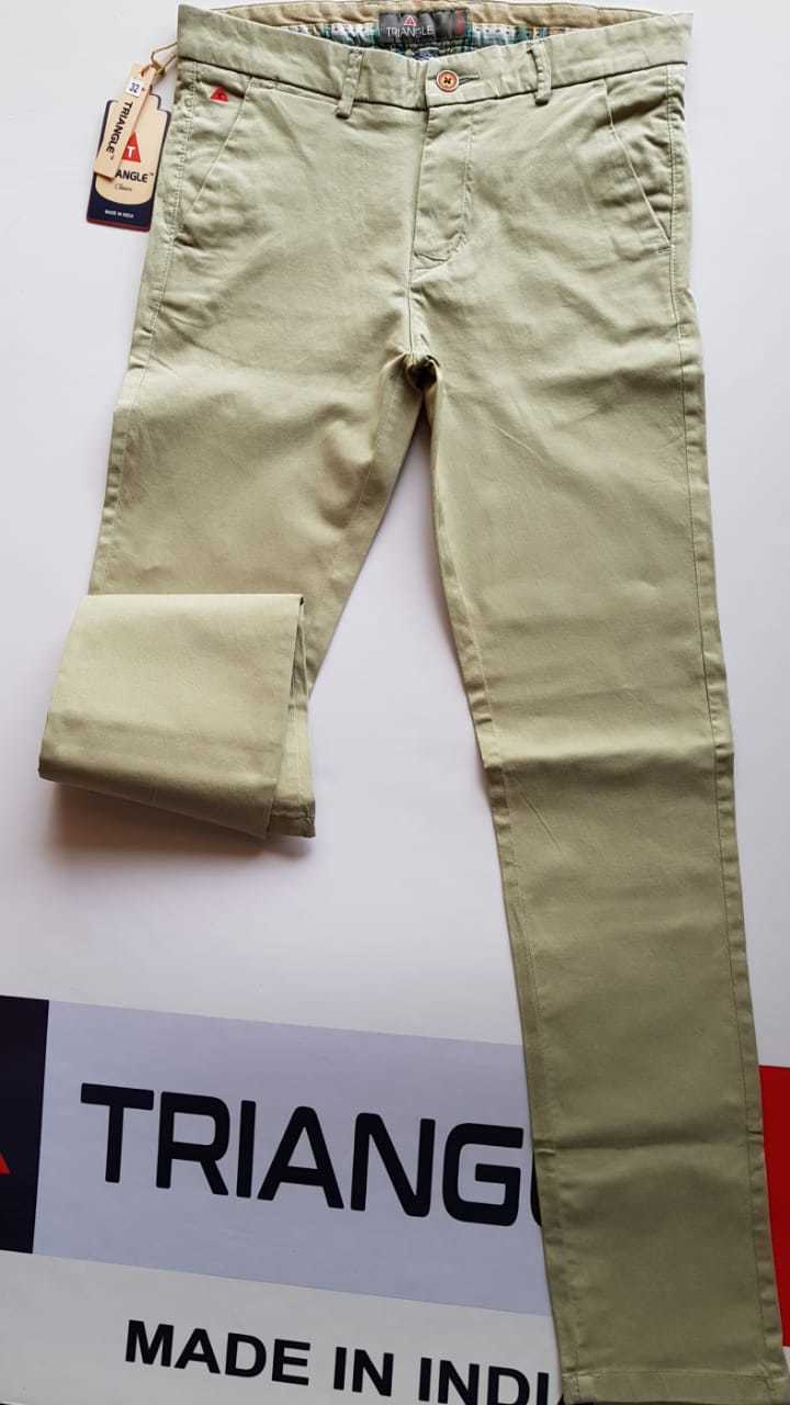 Cotton Chinos Trouser