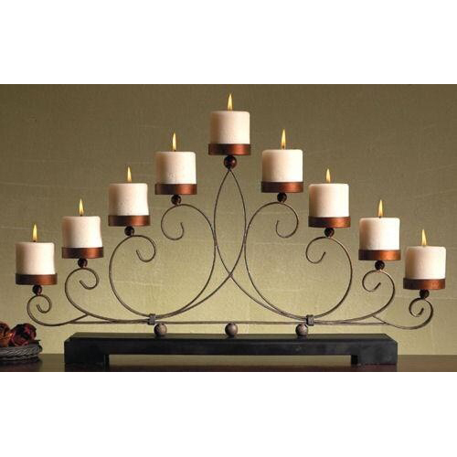 Decorative Iron T Light Stand