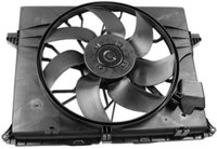Mercedes ML 350 W164 ML164 Radiator Fan OEM 1645000593