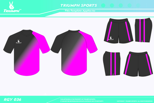 Sublimation Rugby Apparel
