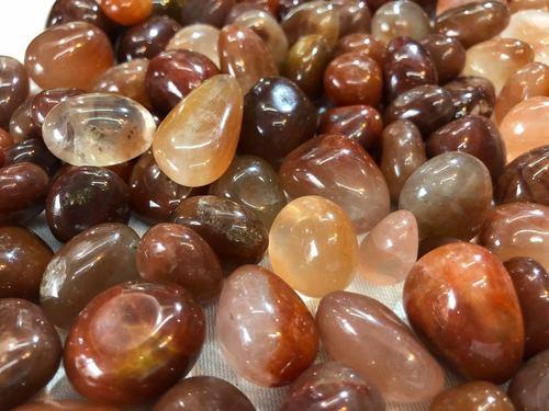 Red Cornelian Tumble Stone