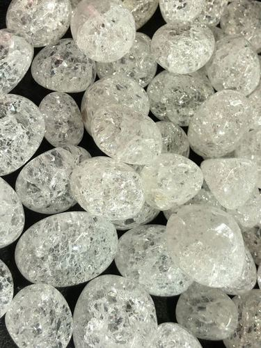 Crack Crystal Tumbled Stone
