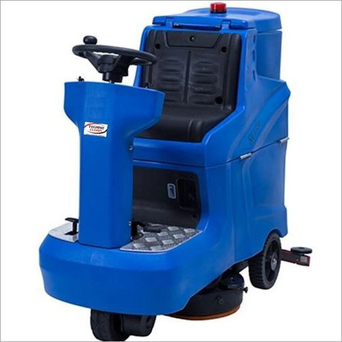 Battery Operated Ride-on Floor Scrubber Dryer