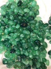 EMERALD GEMSTONE TUMBLED