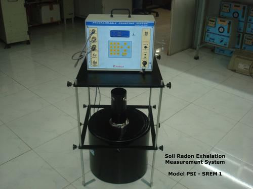 Soil Radon Exhalation Measurement System