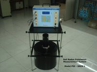 Soil Radon Exhalation Measurement System