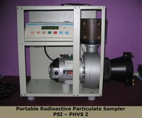Portable Radioactive Particulate Sampler