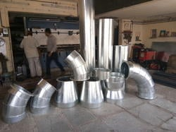 Spinning Industry Round Duct Fitting