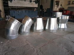 Round Duct Elbow