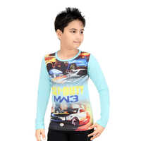 Kids Printed Polyster T Shirt