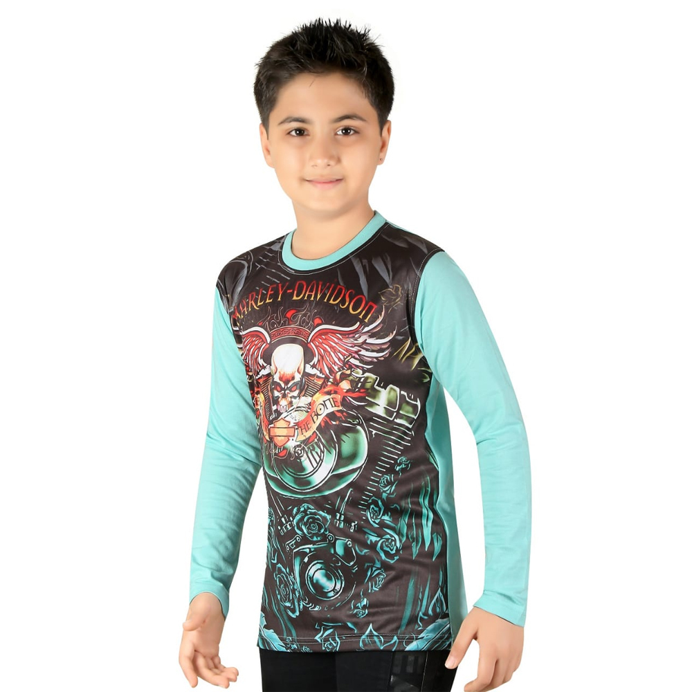 Kids Polyester Full Sleeve T Shirt