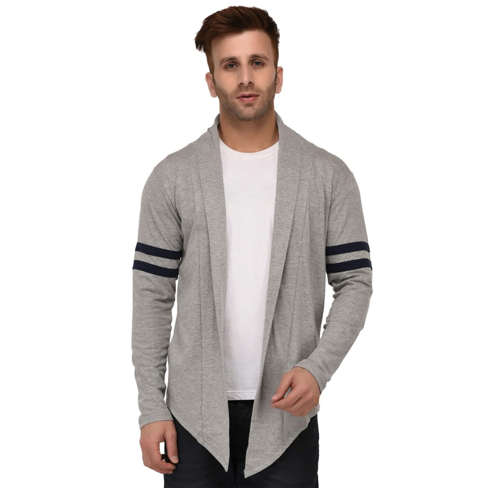 Mens Grey Shrug