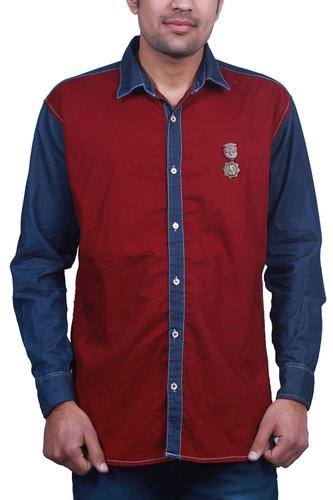Casual Cotton Denim Shirts 01