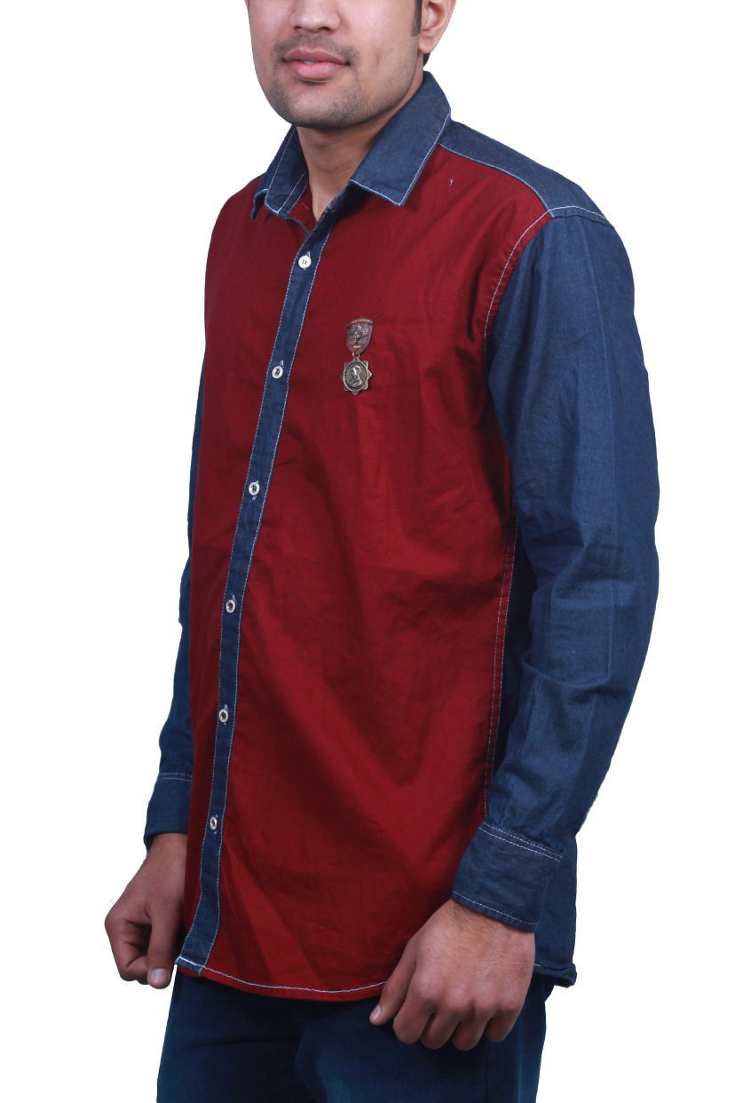 Casual Cotton Denim Shirts 01