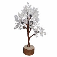CLEAR QUARTZ CHIPS TREE [150BEADS]