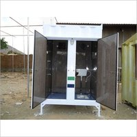 Container Bathroom and Toilet