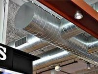 Spiral Ducts for Ventilation