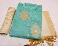Designer  Unstiched Suit ( Dress Material )