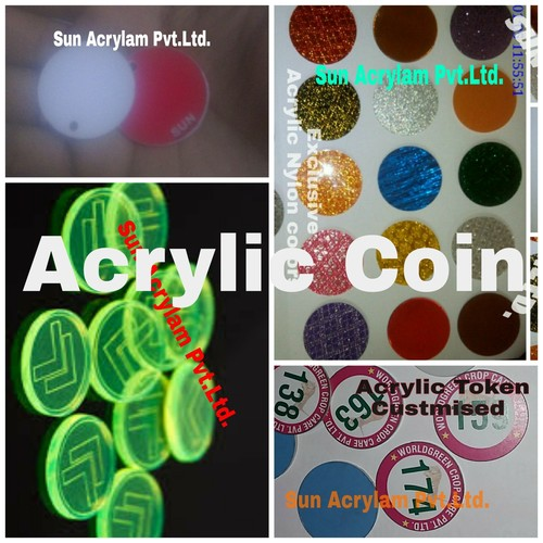 Acrylic Coin
