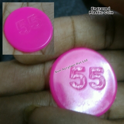Engraved Plastic Coin