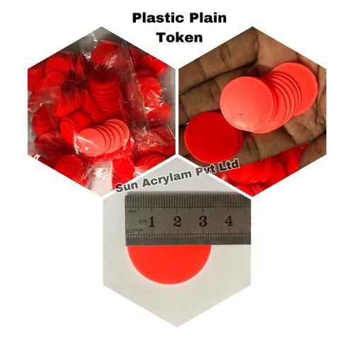 Plastic Token Plain