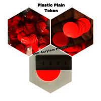Plastic Token Plain 32 mm