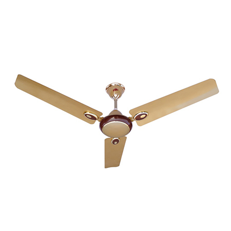Metalic Ivory Ceiling Fans