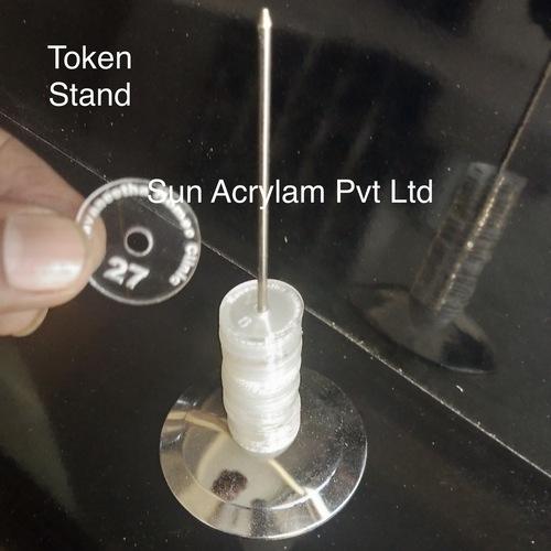 token stand
