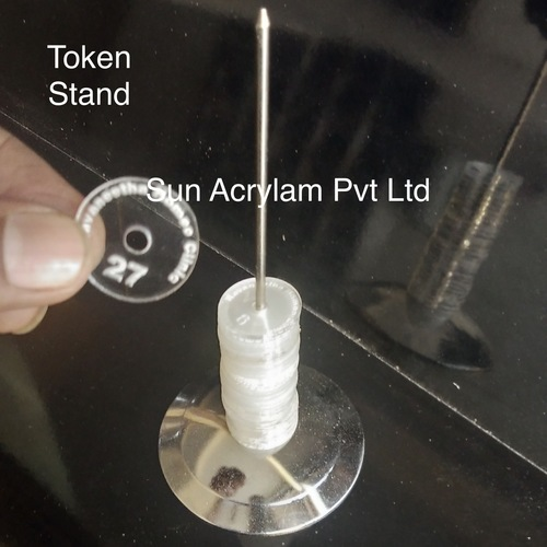 token stand