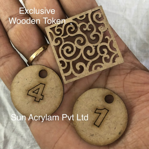 Wooden Whole Token