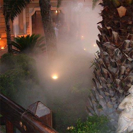 HUMIDIFICATION SYSTEM FOR HOTEL TERRACE & GARDENS