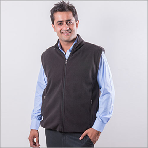 Mens half sleeves Jacket