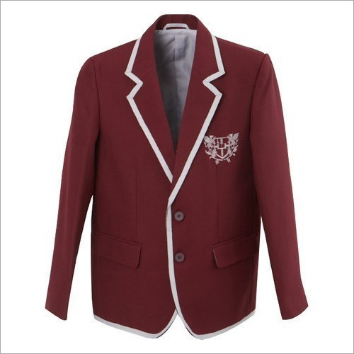 School Maroon Blazer