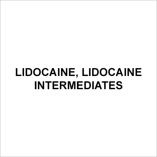 Lidocaine Intermediates