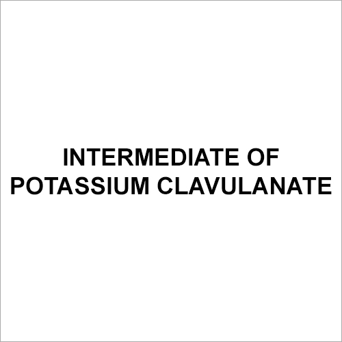 Intermediate Potassium Clavulanate