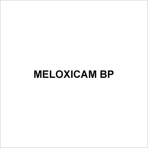 Meloxicam BP