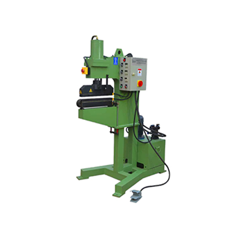 Narrow Abrasive Belt Press Machine