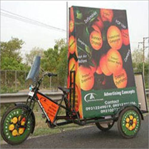 Motorised Advertising Tricycle