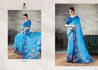 Stylish Printed Sarees Online Shopping