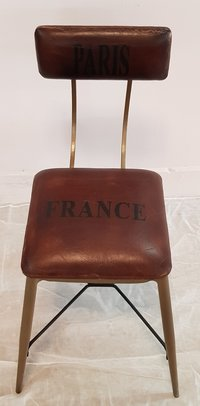 Leather Seated Chair