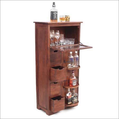 Antique Wooden Bar Counter